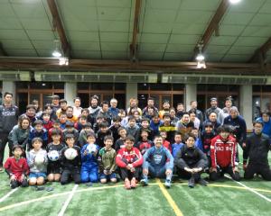 人権ブラインドサッカー体験会