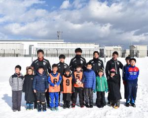 2019滝沢笑福祭 雪上サッカー