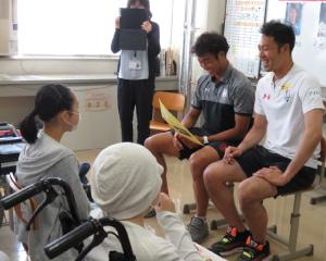 岩手県立盛岡青松支援学校への訪問授業