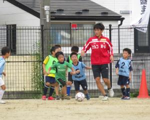 第2回常磐まつり サッカー教室