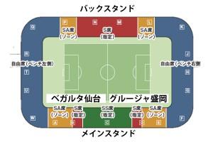 ユアスタ-座席図