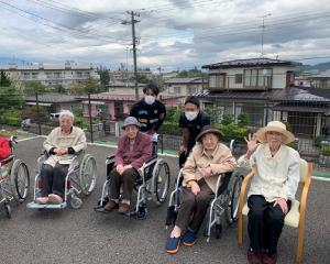 介護老人ホームへの訪問